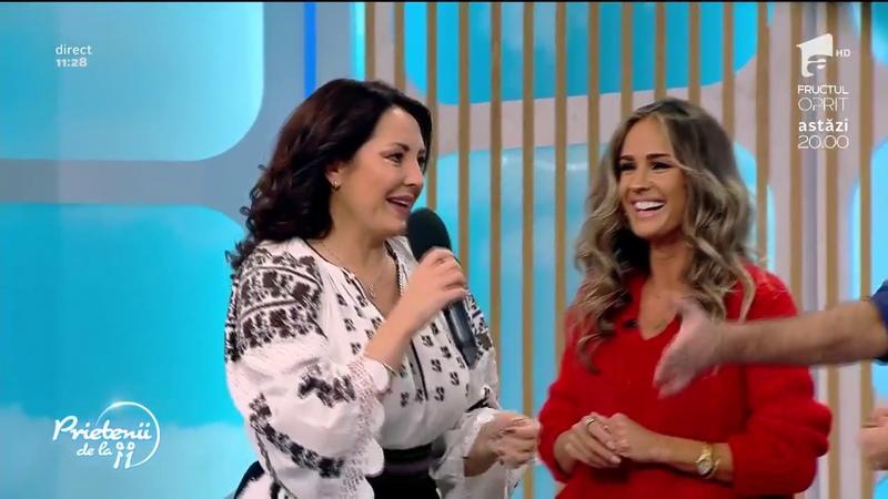 Angela Rusu povesteste despre Dieta Metabolic Balance la Prietenii de la 11 Antena 1