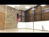 SLs Шпагаты в висе на локте с Натальей Мещеряковой - обучающее видео (Elbow Splits T