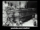 The movement of a giant stone block in Italy in 1926
