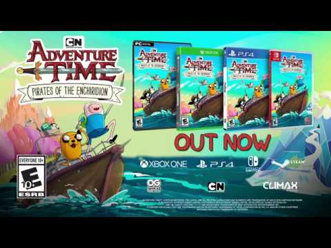 Adventure Time Pirates Of The Enchiridion Launch Trailer (US)