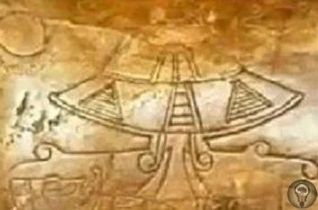 Артефакты, изображающие пришельцев.