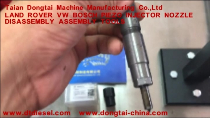 No,079 LAND ROVER VW BOSCH PIEZO INJECTOR NOZZLE DISASSEMBLY ASSEMBLY TOOLS