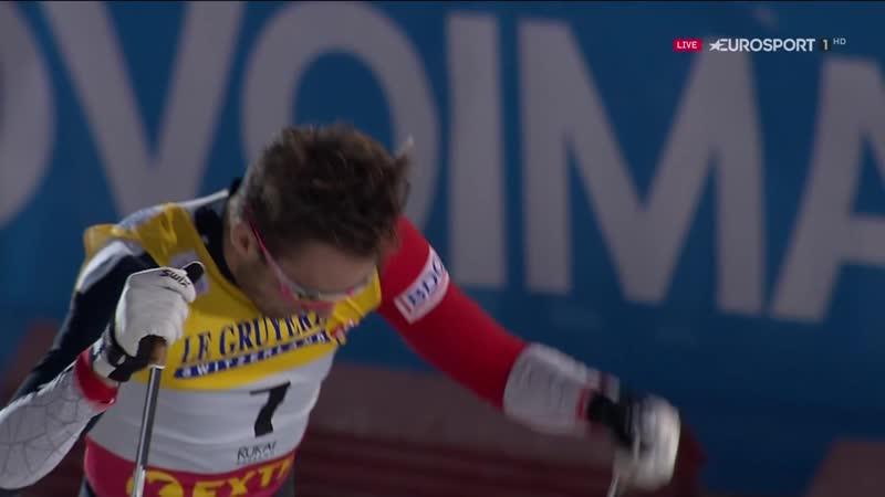 Суперфинал Большунов VS Клэбо Лыжные гонки КМ 24 11 2018 mp4