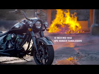 The jack daniel's® limited edition indian springfield® dark horse®  - indian motorcycle