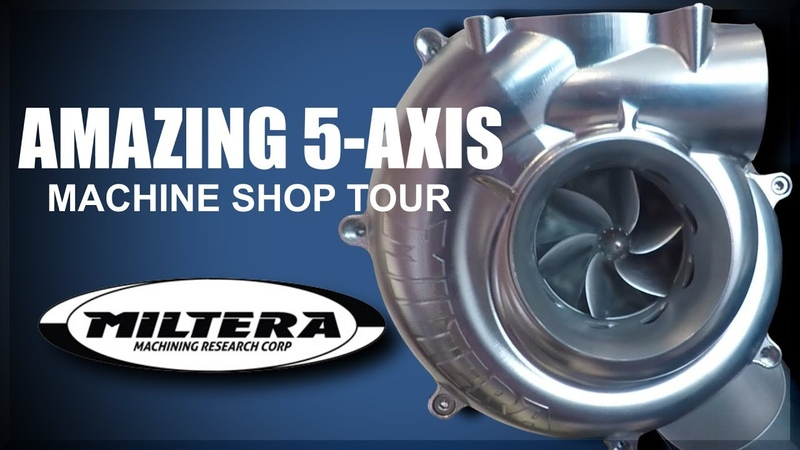 AMAZING 5 Axis Machine Shop Miltera!