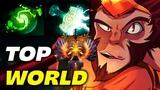ABED TOP 1 WORLD MONKEY KING Highlights Dota 2