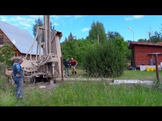 Скважина на воду бурение поселок Беличье Приозерский район Ленобласть