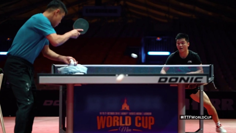 TrainLikeAPro with World number one Fan Zhendong