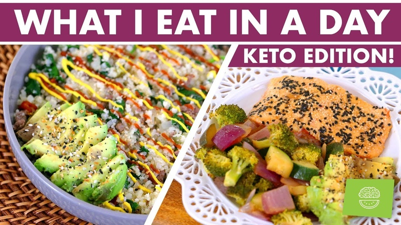 What I Eat in a Day KETO and Intermittent Fasting ANNOUNCEMENT!