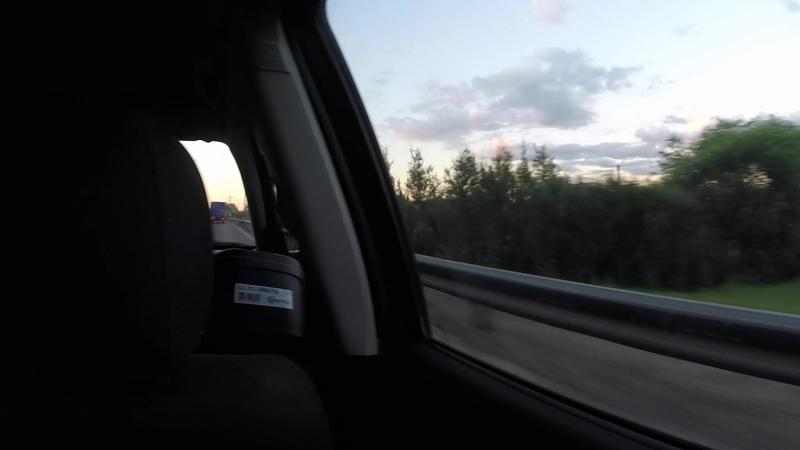 На пути к поселку Северный