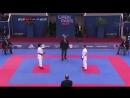Premier League. Final kumite 50kg - Miho Miyahara vs Alexandra Recchia (2018)