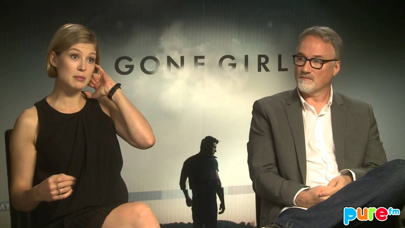 GONE GIRL : David Fincher - Rosamund Pike PURE Interview