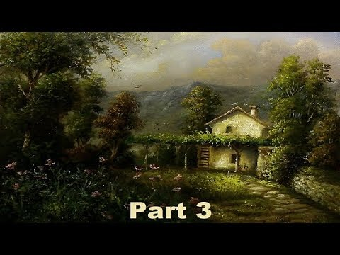 Oil Painting Farm House Landscape By Yasser Fayad part 3