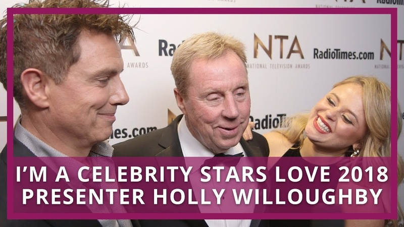 I'm A Celebrity Stars LOVE 2018 Presenter Holly Willoughby