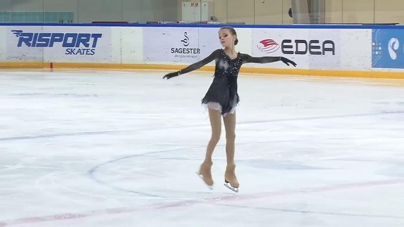 2018 Cup of Russia Final CMS Anna Shcherbakova FS