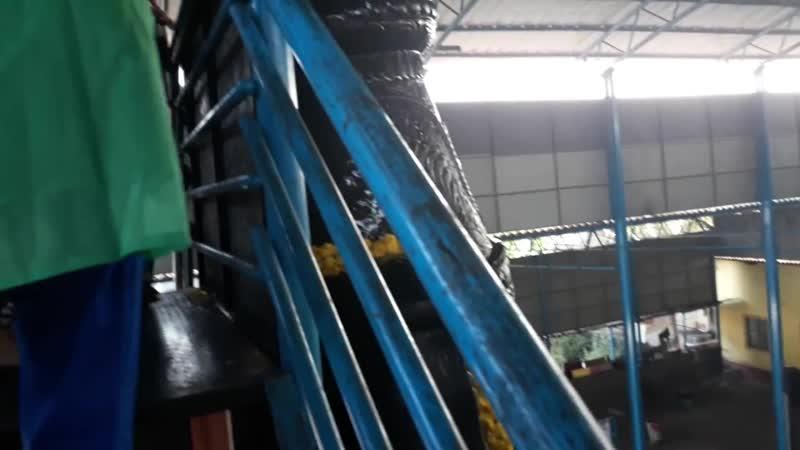 Омовение огромного Шани дева в Удупи (Ведалайф тур в индии)