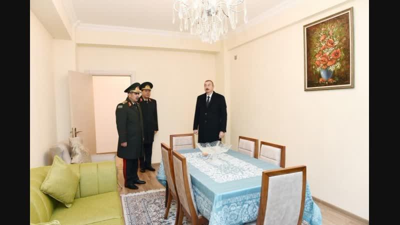 Ильхам Алиев подарил квартиры военнослужащим.Азербайджан Azerbaijan Azerbaycan БАКУ BAKU BAKI Карабах 2019 HD Армия Армения Army