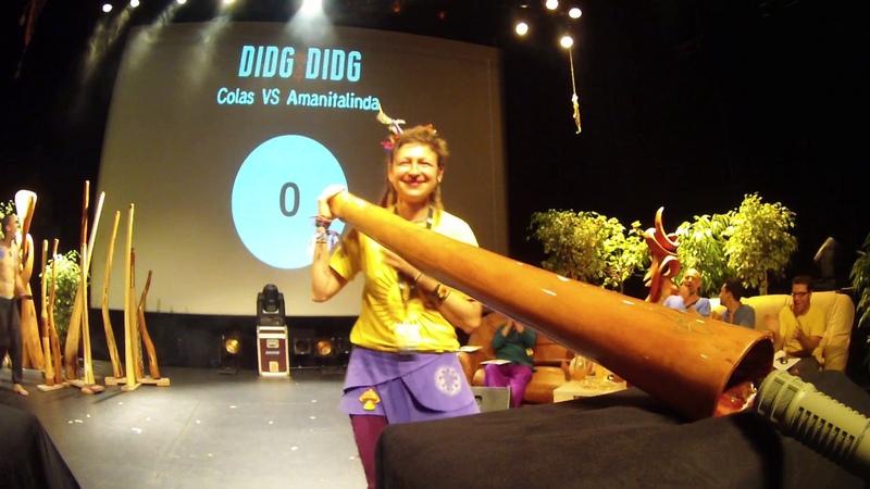 Didg To Didg 4 - 1/4 FINALES SOLO Amanitalinda VS Colas