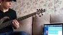 Bass Guitar Cover Evanescence Everybody's Fool Lobanov Bass 2019