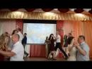 Танец пап и дочек на выпускном в Глубокской гимназии 09.06.2018