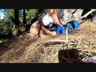 Стриженова порно завел в лес порно приеме