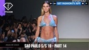 Sao Paulo Fashion Week Spring/Summer 2019 - Part 14 FashionTV FTV