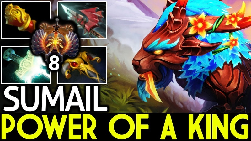 SumaiL [Mirana] Power of a King Crazy Game 7.20 Dota 2