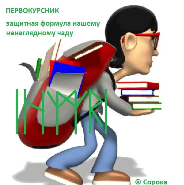 "Формула ""Первокурсник"" Автор Сорока"