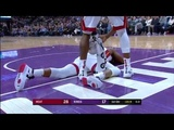 Dwyane Wade SCARY Fall Heat vs Kings February 8, 2019 2018-19 NBA Season