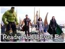 ○Ready As I'll Ever Be Thor Ragnarok Loki Hela Thor Valkyrie and Hulk ○
