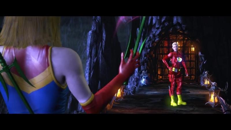 Mortal Kombat XL - All Klassic Fatalities on Flash Girl Cassie Costume Mod 4K Ultra HD Gameplay Mods.mp4