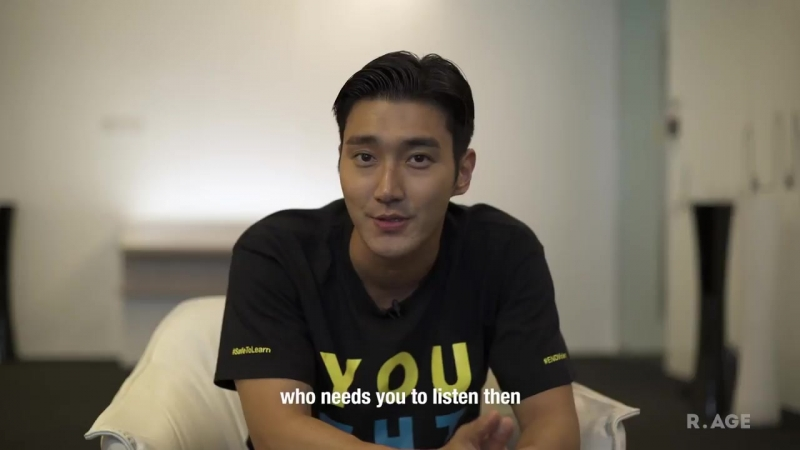 Korean super star @siwonchoi has a message to all children who are being bullied your li
