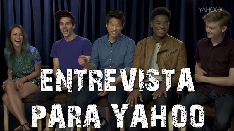 Yahoo Elenco de Prova de Fogo responde perguntas de fãs