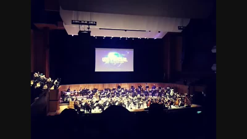 New Arrangement of Jerry Goldsmith's Universal Pictures Theme. Live in London
