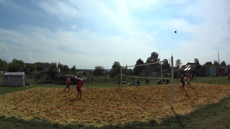 Игра 8 Пляжный волейбол - закрытие сезона микст Новосиль 2018/09/15