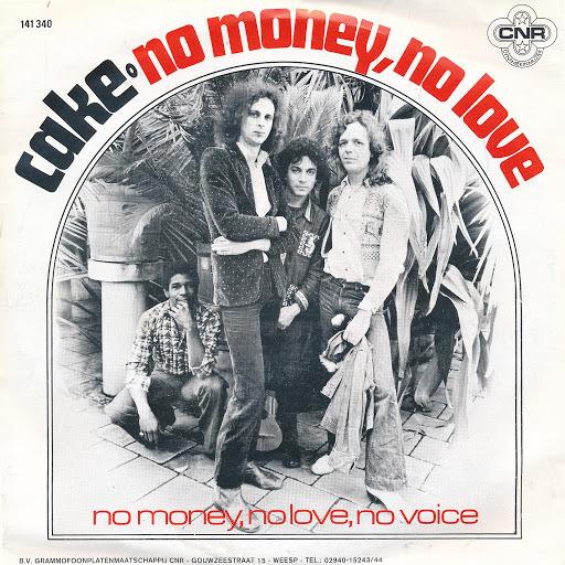 Cake альбом No Money, No Love