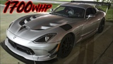 1700HP Viper vs Texas Streets - The MOST SAVAGE Street Car we've seen!