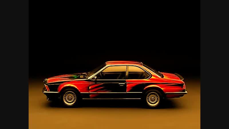 BMW 635 CSi (E24) - Art Car by Ernst Fuchs (1982)