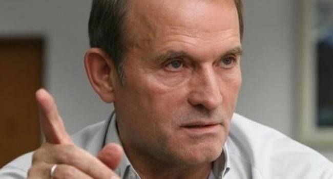Медведчук открыто озвучил план своего кума Путина и выступил за автономию для временно оккупированных «Л/ДНР»
