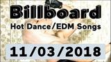Billboard Top 50 Hot DanceElectronicEDM Songs (November 3, 2018)