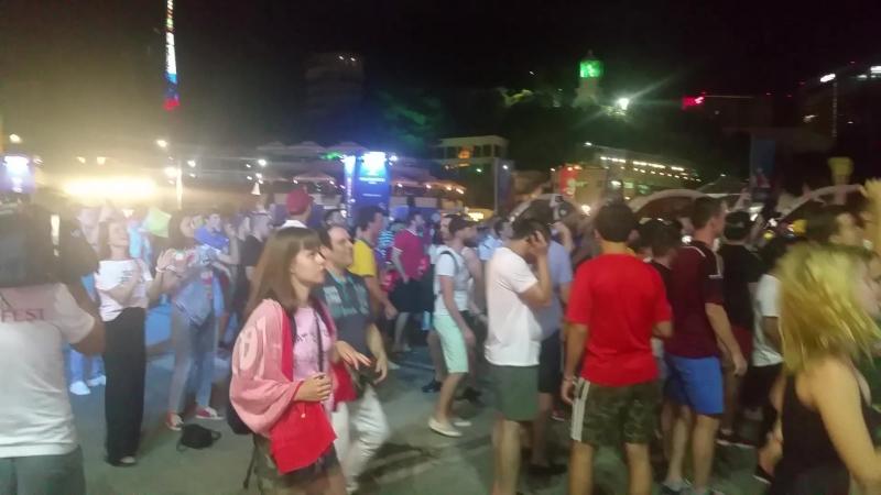 Третья часть АфтерПати Фан Фест зоны Сочи 22 июня 2018 FIFA World Cup ЧМ2018 ФанФест ФИФА