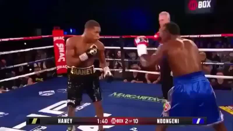 Девин Хэйни отправил непобежденного соперника ты нокдаун во втором раунде