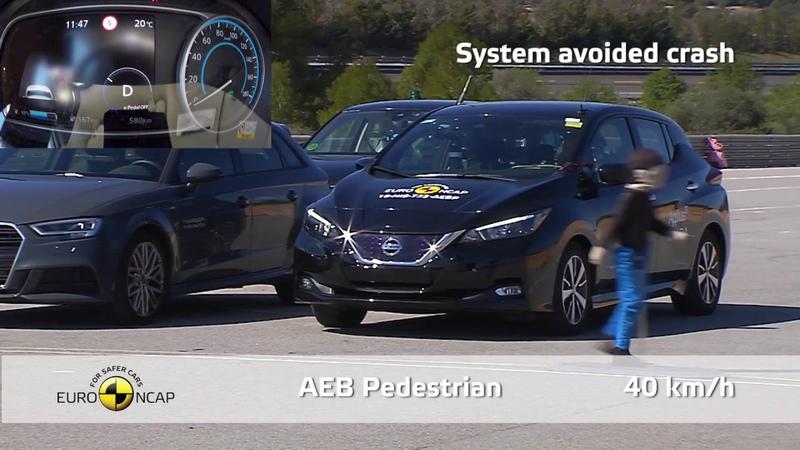 Euro NCAP Crash Test of Nissan LEAF