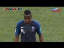 Чемпионат мира по футболу 2018 Финал Франция Хорватия Второй тайм СЧЁТ 4 2