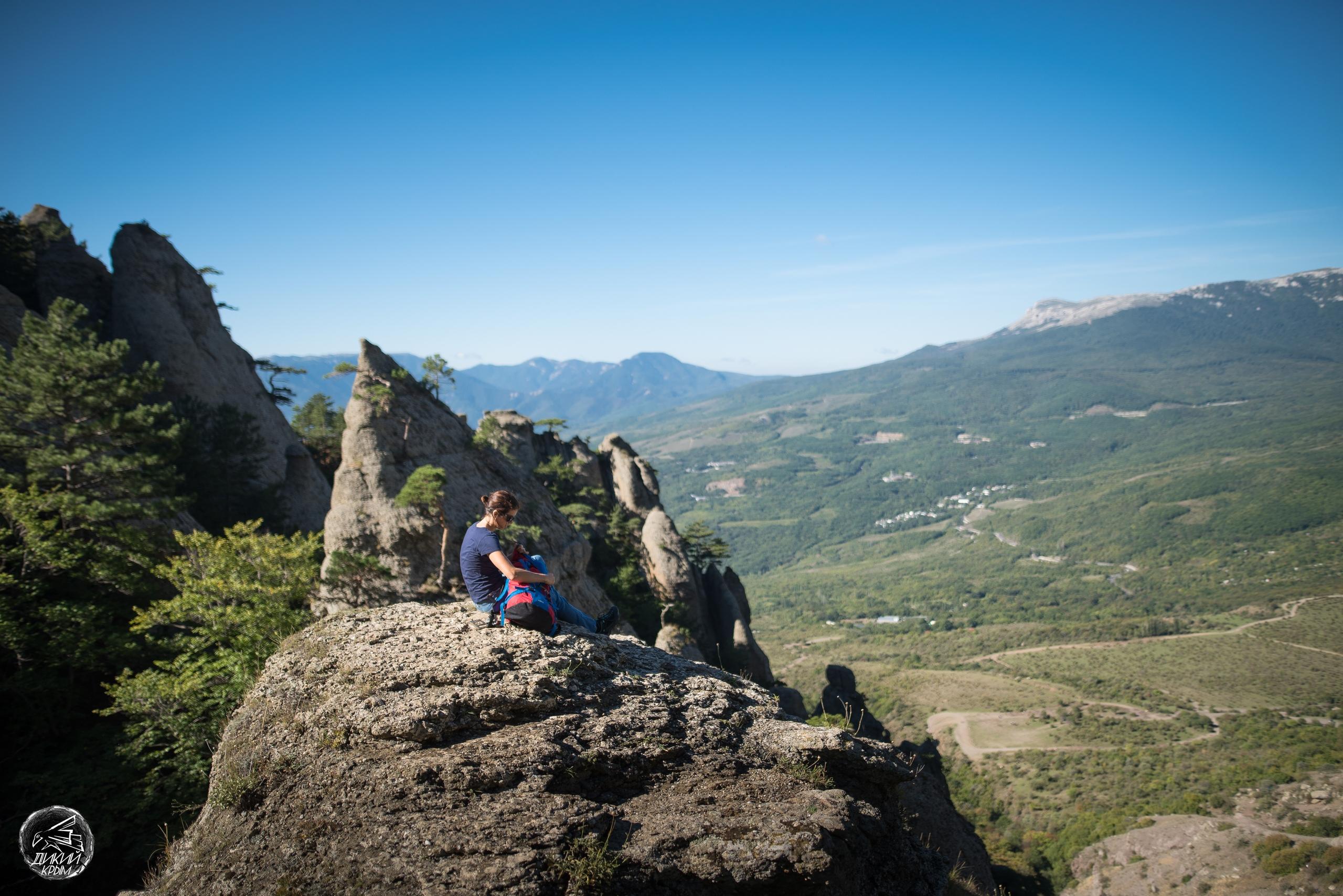 Над долиной привидений, гора Демерджи