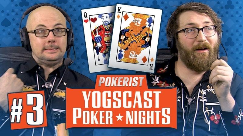 Yogscast Poker Nights 3 - Scrubs and Pros (Final)