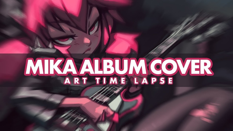 Digital art speed paint | Mika Album Cover (KNKL 375 for the impatient)