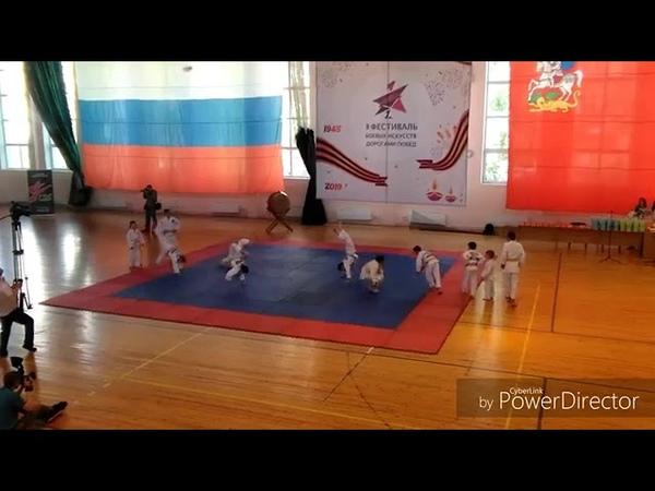 Выступление МООДЮСПВ Барс Витязь на фестивале боевых искусств