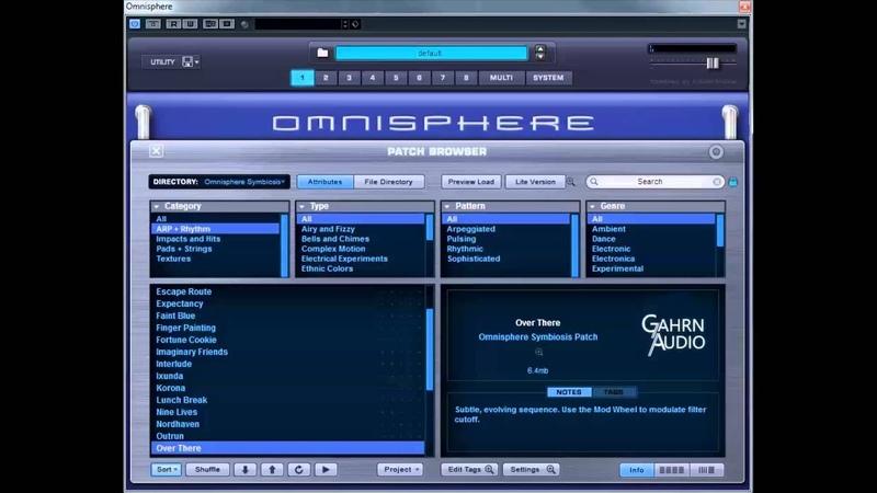 Omnisphere Symbiosis Walkthrough ARP Rhythm