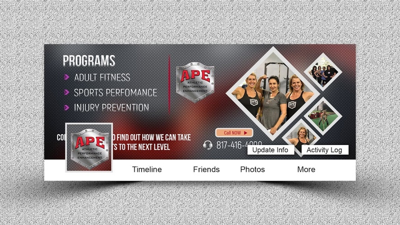 How to Create Fitness Facebook Cover - Photoshop Tutorial